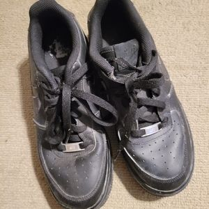 Air Force Ones Nike Shoes black